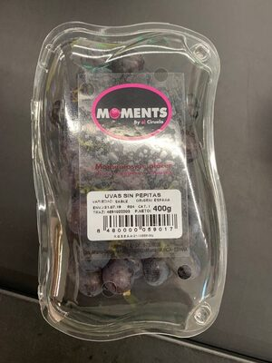 Uvas sin pepitas - Producto