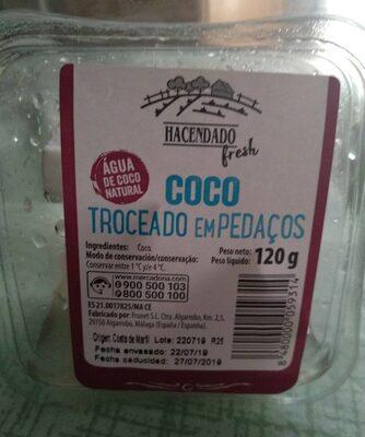 Coco troceado - Produit - es