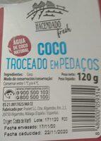 Coco troceado - Informations nutritionnelles - es