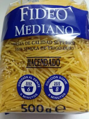 Fideo mediano - Product - es