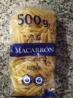 Pasta Macarrón - Producto