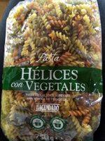 Hélices con vegetales - Prodotto - es
