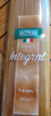 Spaguetti Integral - Produktua