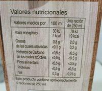 Caldo de Pollo bajo en sal - Valori nutrizionali - es