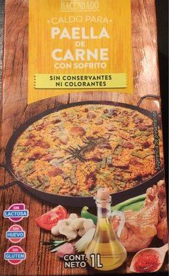 Caldo para paella de carne - Producto