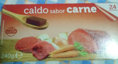Caldo Sabor carne Hacendado - Product