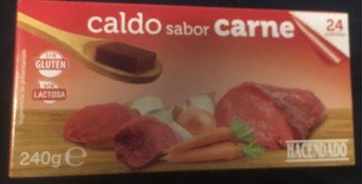 Caldo Sabor carne - Produit