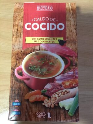 Caldo de cocido - Producte