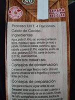 Caldo de cocido - Ingredients