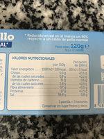 caldo de pollo - Informació nutricional