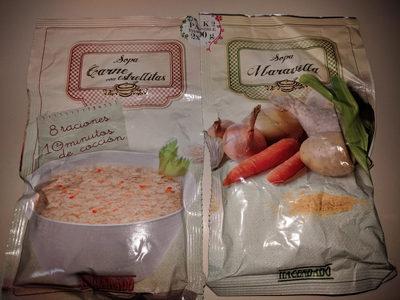 sopas carne con estrellita y sopa maravilla - Producto