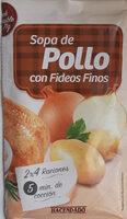 Sopa De Pollo Con Fideos Finos Deshidratada - Produit - es