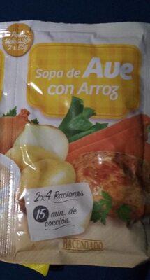 Sopa de ave con arroz - Producto - es