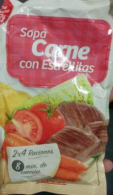 Sopa Carne con Estrellitas - Producto