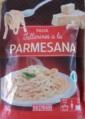 Tallarines a la Parmesana - Produit
