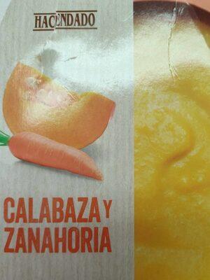 Crema de calabaza y zanahoria - Produit - es
