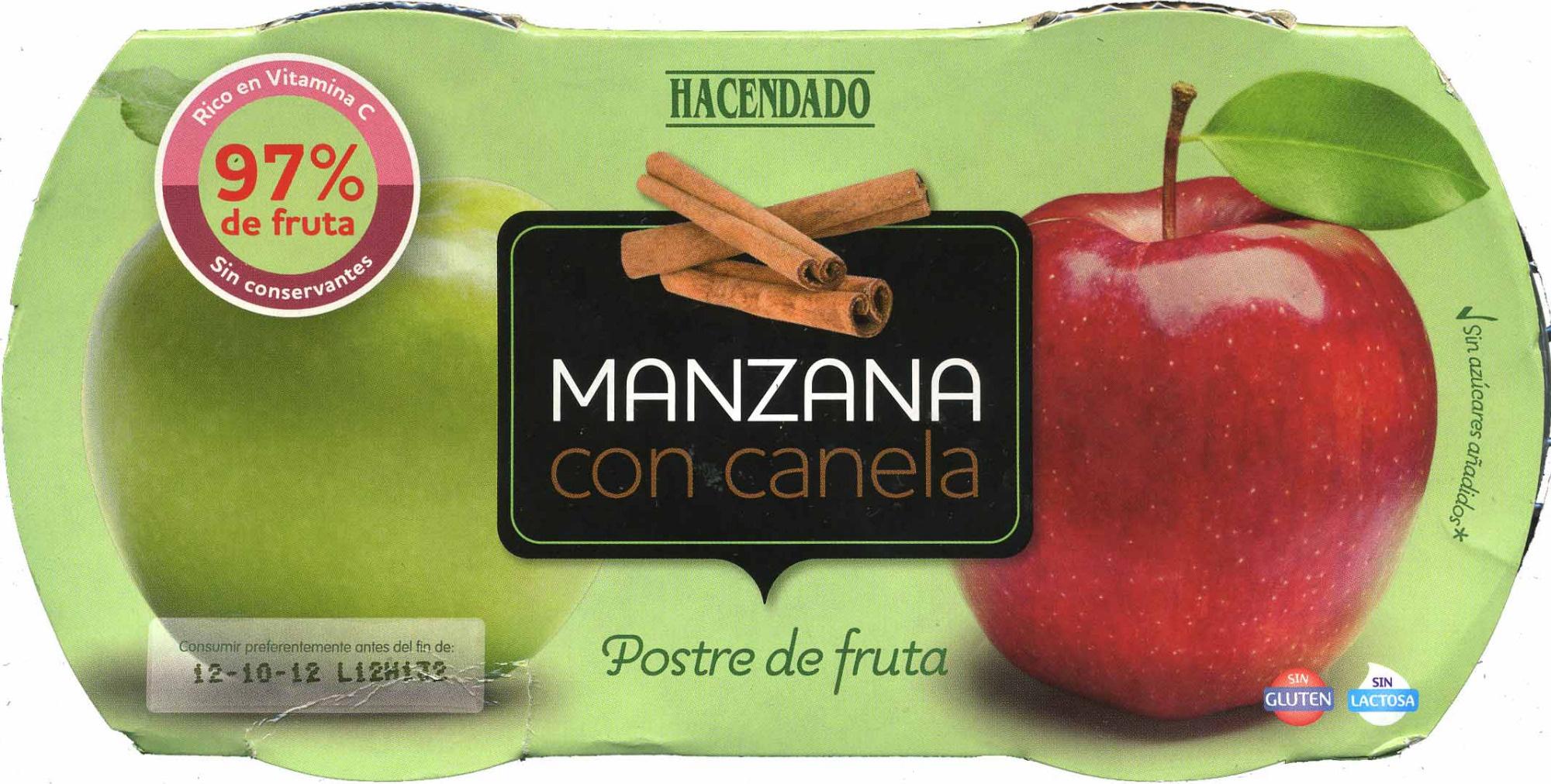 Pur de fruta hacendado manzana 260 g 2 x 130 g - Pure de castanas y manzana ...