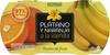 Postre de fruta Plátano y naranja - Product