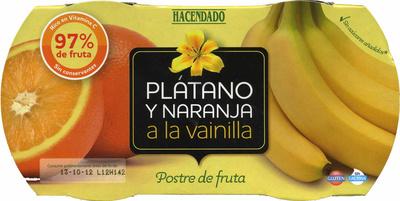Plátano y naranja a la vainilla - Product - es