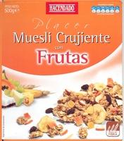 Muesli crujiente con frutas - Producte - es