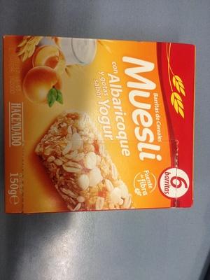 Barre muesli abricot & yaourt - Producto