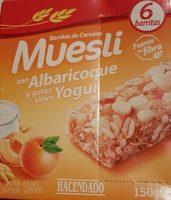 Barre muesli abricot & yaourt - Produit - fr