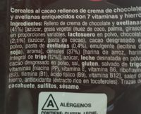 Rellenos - Ingredientes