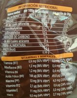 Copos de trigo con chocolate - Ingredientes
