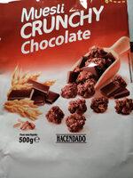 Muesli crunchy chocolate - Producto - es