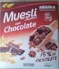 Muesli con chocolate. - Producto