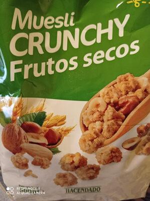 Muesli con frutos secos - Produit - es
