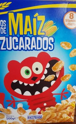 Copos de maíz azucarados - Producto - es