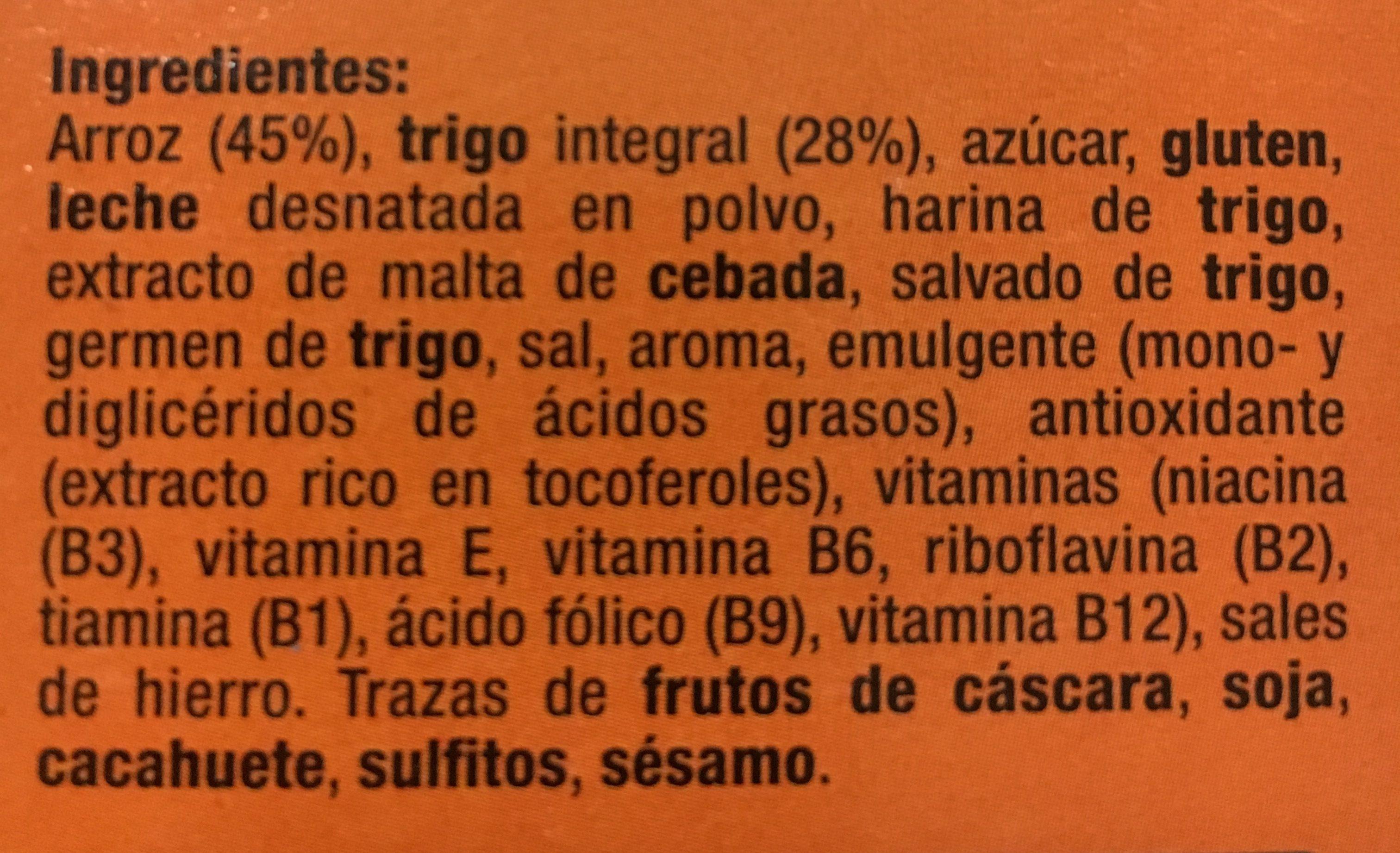 Cereales Integral hacendado - Ingredientes
