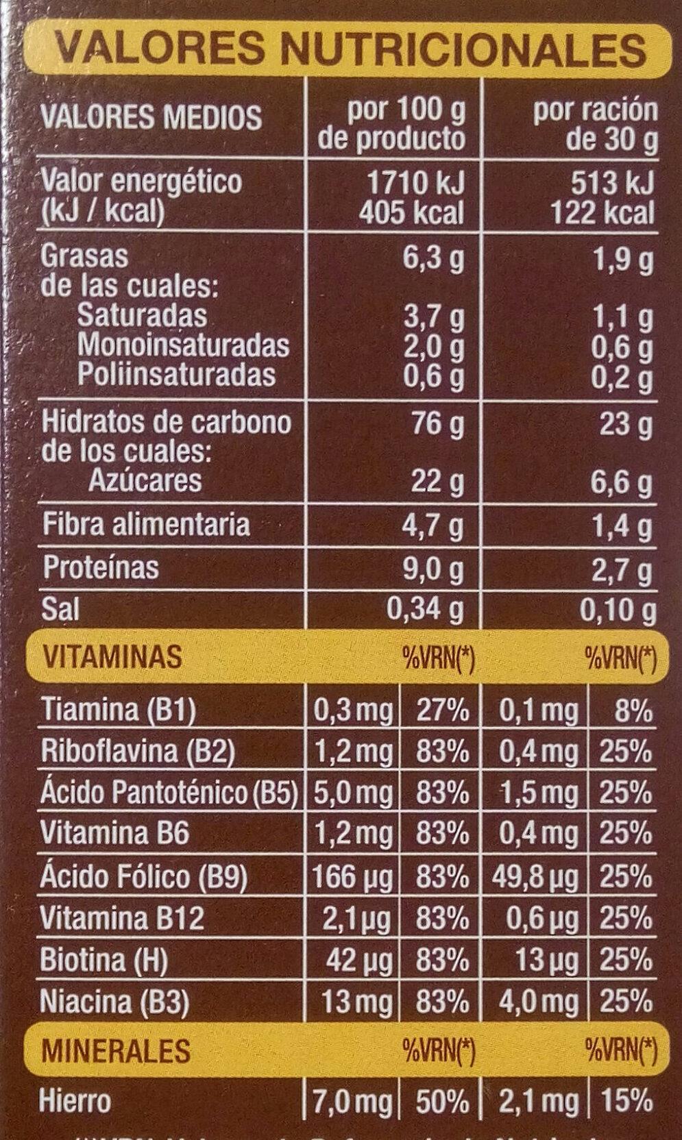 Linnea V Copos De Arroz Y Trigo Integral Con Chocolate Hacendado 450 G