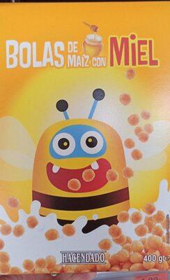 Bolas de Maíz con miel - Prodotto - es
