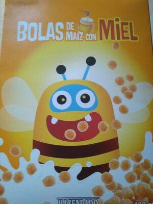 Bolas de Maíz con miel - Ingredienti - es