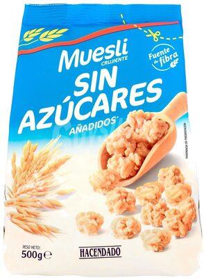 Muesli Crunchy 0% azúcares añadidos