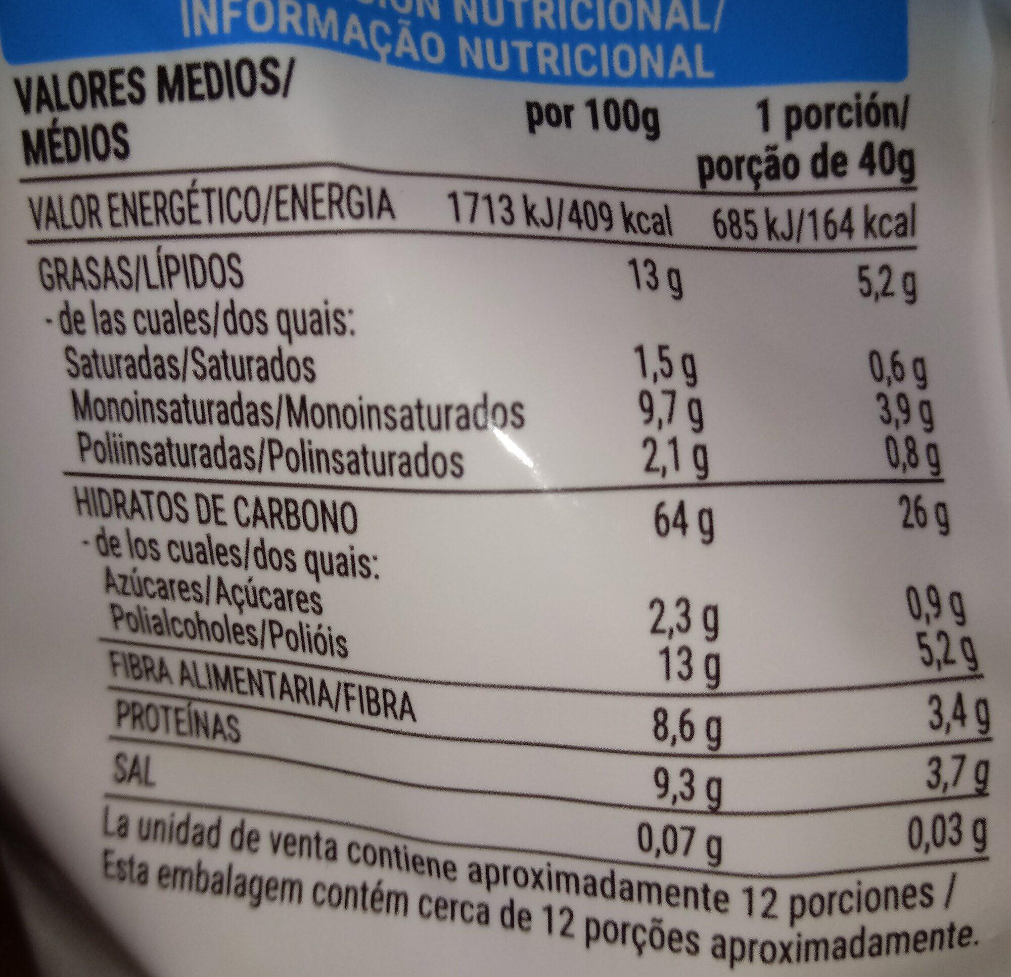 Muesli Crunchy 0% azúcares añadidos - Nutrition facts