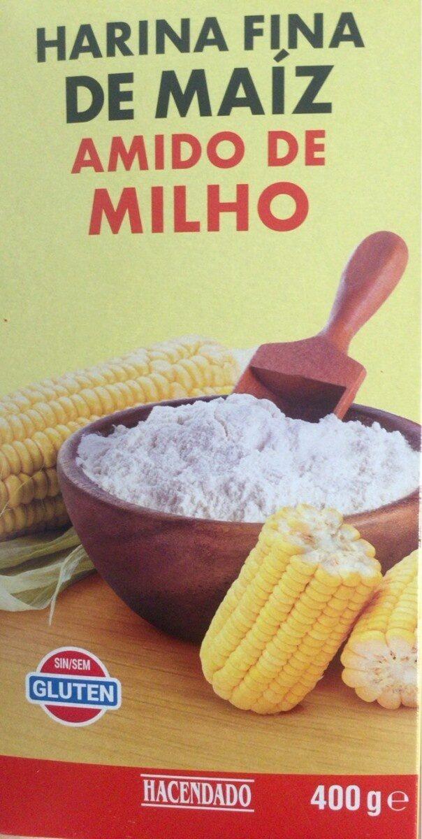 Harina fina de maíz - Producto - es