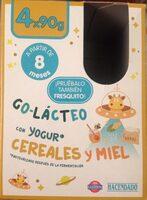 Go-lácteo con yogur cereales y miel - Producto - es