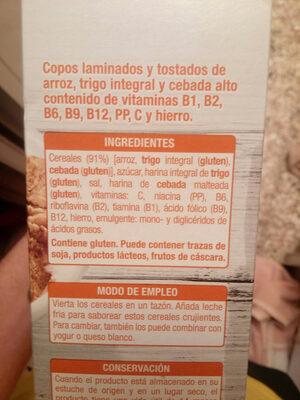 Classic - Ingredients - es
