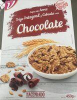 Copos de arroz trigo integral y cebada con chocolate - Producto