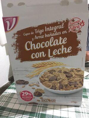 Copos de trigo con chocolate con leche - Producto