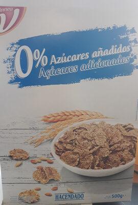 Copos de trigo integral y arroz - Producto