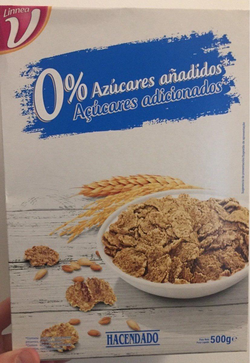 Copos de trigo integral y arroz - Produit