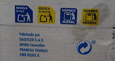 Cereales trigo integral y arroz - Recycling instructions and/or packaging information - es