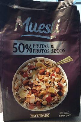 Muesli 50% frutas & frutos secos - Product - es