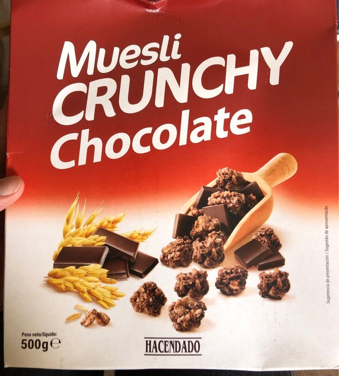 Muesli crunchy chocolate - Producto
