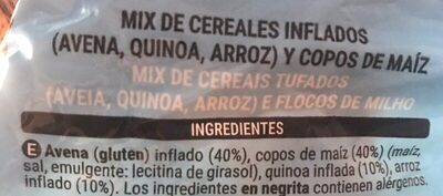 Cereal mix 0% - Ingredientes - es