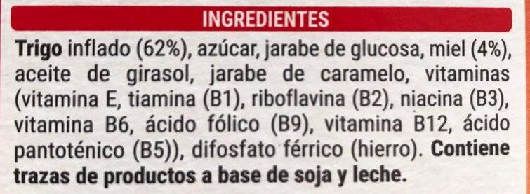 Trigo con miel - Ingredientes - es